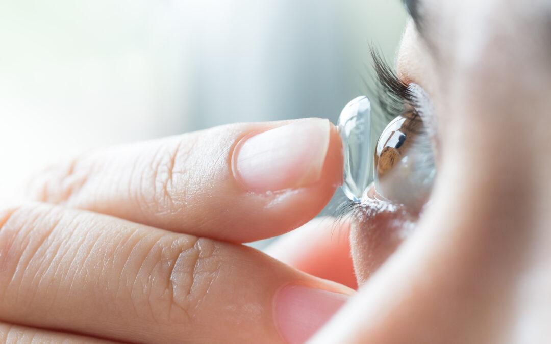 Kontaktlinsbärande under coronatider