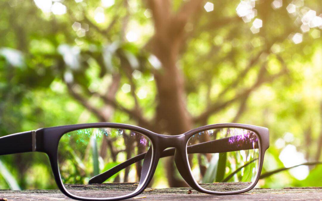 Kan glasögonbärande reducera risken för corona?